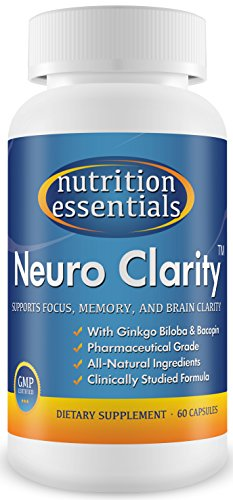 Neuro-Clarity-All-Natural-Brain-Function-Booster-Super-Ginkgo-Biloba-complex-with-St-Johns-Wort-and-Bacopin-Improve-Mental-Clarity-Focus-Memory-and-Concentration-Reduce-Stress-and-Anxiety-Pharmaceutic-0